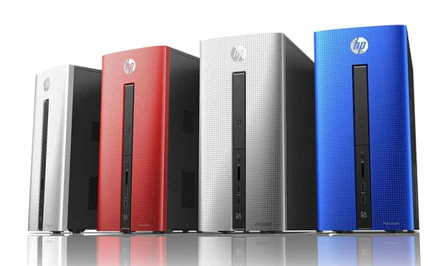 HP's Pavilion range of desktops