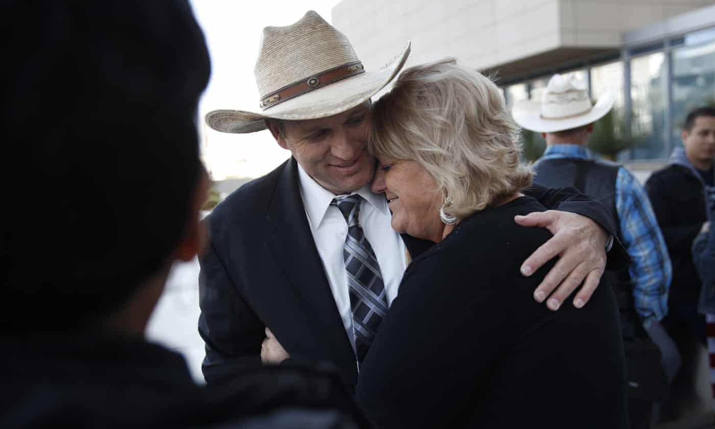 Stunning victory for Bundy family as all charges dismissed in 2014 standoff case