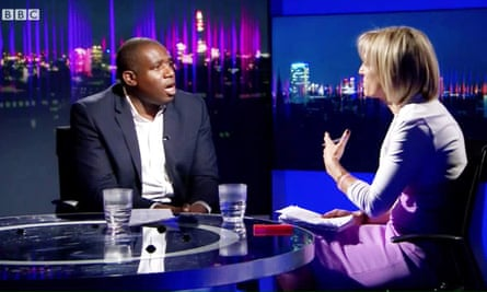 David Lammy questioned by Emily Maitliss on BBC Newsnight in June