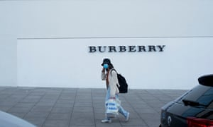 London's Burberry outlet.