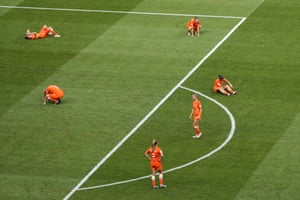 Dejection for the Dutch.