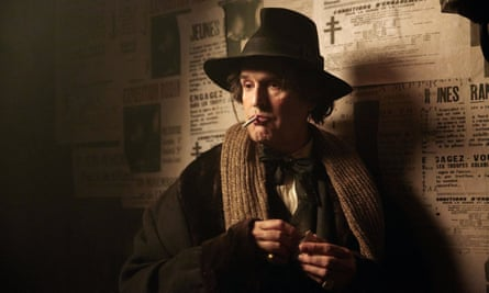 Rupert Everett as Oscar Wilde in his film The Happy Prince, which premiered in the UK on 5 June.