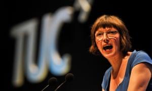 The TUC secretary general, Frances O'Grady