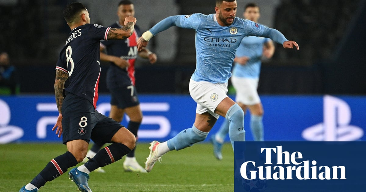 Manchester City's Kyle Walker makes his case for greatness against PSG   Jonathan Liew