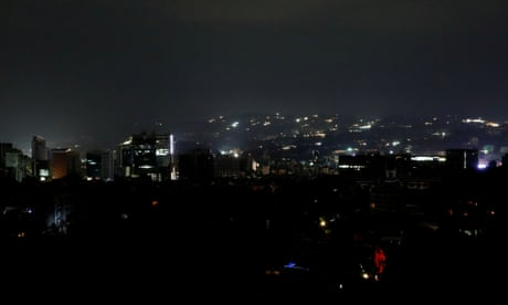Venezuela: 'country has stopped' as blackout drags into second day