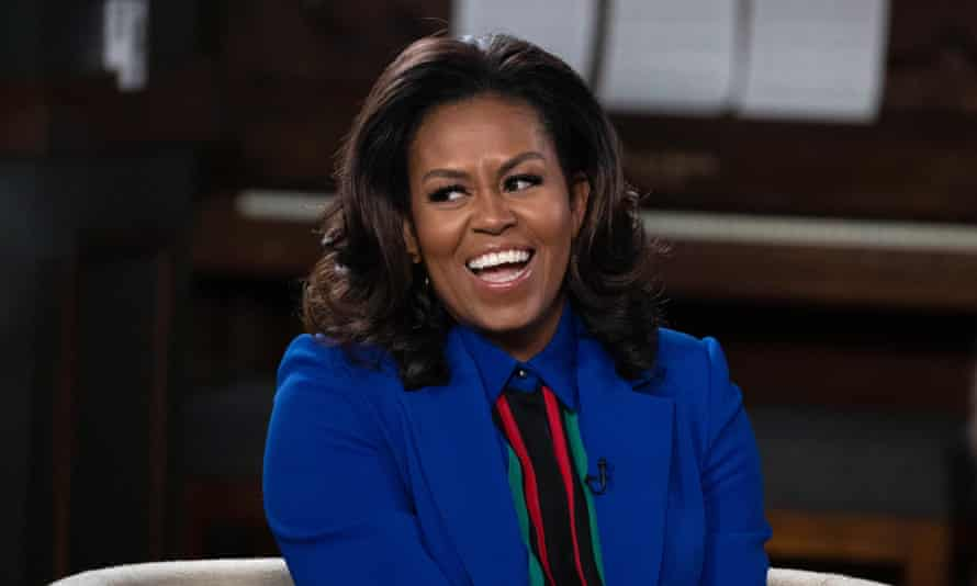 Michelle Obama: 'It was like somebody put a furnace in my core and turned it on high. And then everything started melting.'