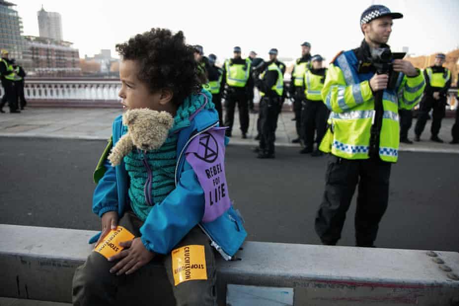 A young activist