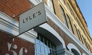 Lyle's restaurant, in Shoreditch, London.
