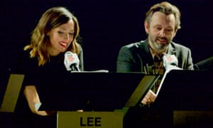 Rose Byrne and Michael Sheen in Hannah and her Sisters at the TimesCenter, New York.