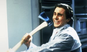 Musical mania … Christian Bale in American Psycho.