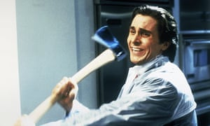 Christian Bale as Patrick Bateman in the 2000 adaptation of American Psycho