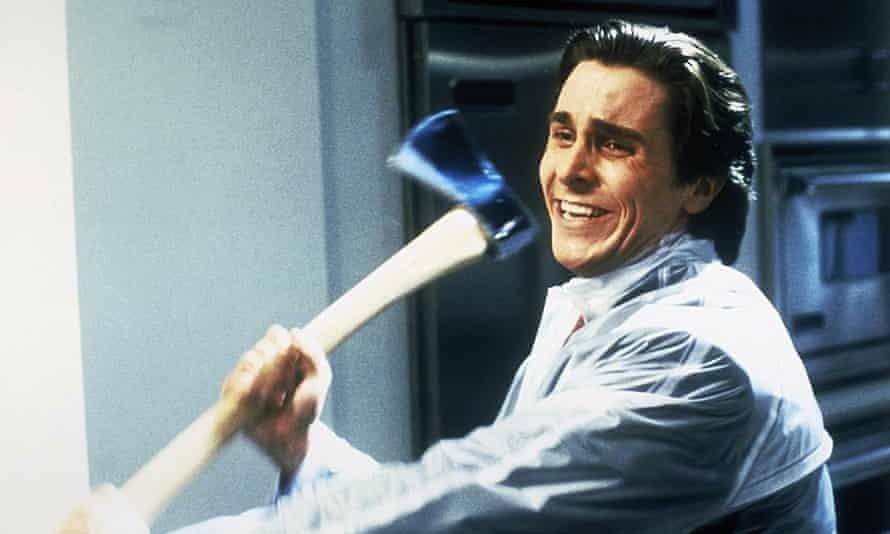 Christian Bale as Patrick Bateman in the 2000 adaptation of American Psycho