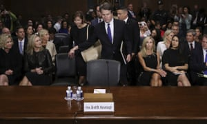 'Kaplan sat behind the judge during his recent hearings before the Senate judiciary committee. The Facebook executive's presence reportedly came as a surprise to employees.'