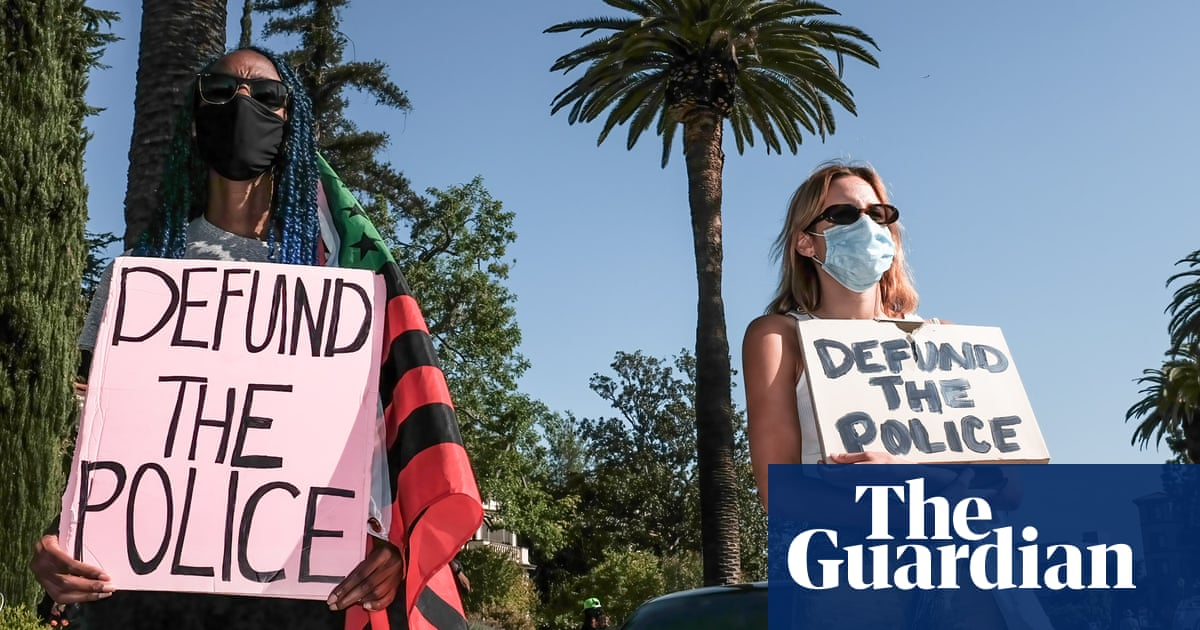 'It's a slap in the face': LA activists protest mayor's police budget increase