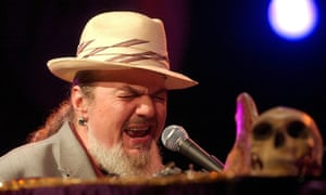 Dr John performs in Montreux, Switzerland, in 2004.