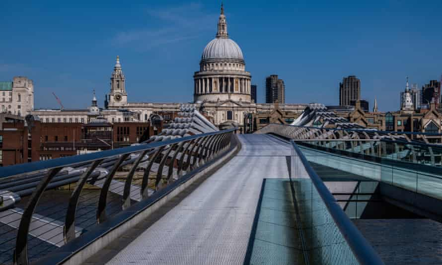 St Paul's cathedral, in London