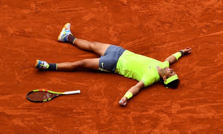 Rafael Nadal beats Dominic Thiem to win French Open men's final – as it happened
