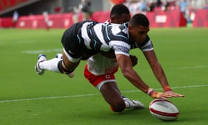 Fiji edged past Japan in the sevens
