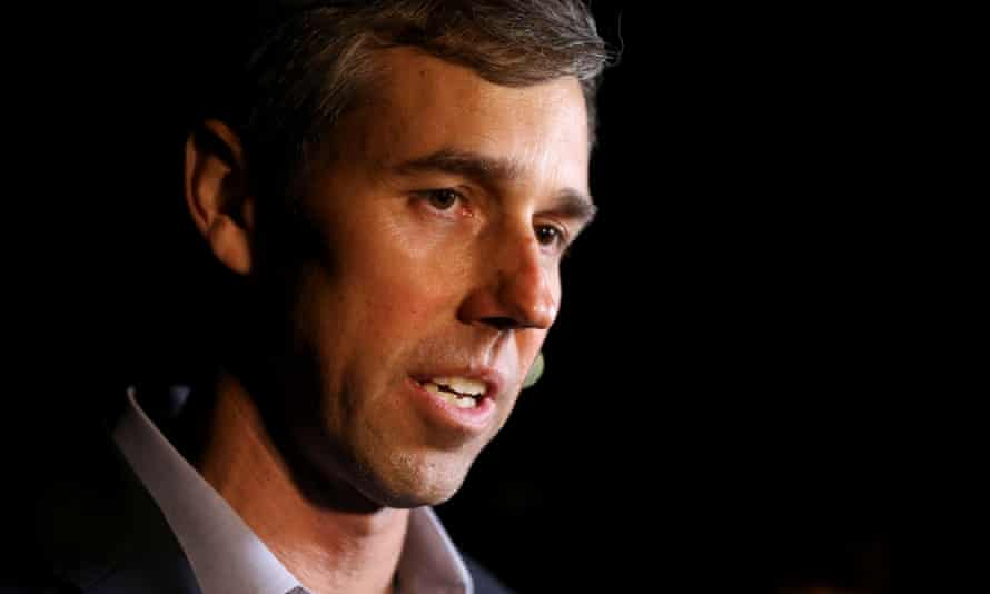 Beto O'Rourke campaigns in Muscatine<br>Democratic 2020 presidential candidate Beto O'Rourke speaks to the media following a campaign event in Muscatine, Iowa, U.S. March 14, 2019. REUTERS/Daniel Acker