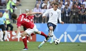 France v Denmark