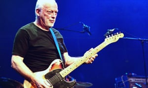 Riding the gravy train? David Gilmour at the Royal Albert Hall in September.