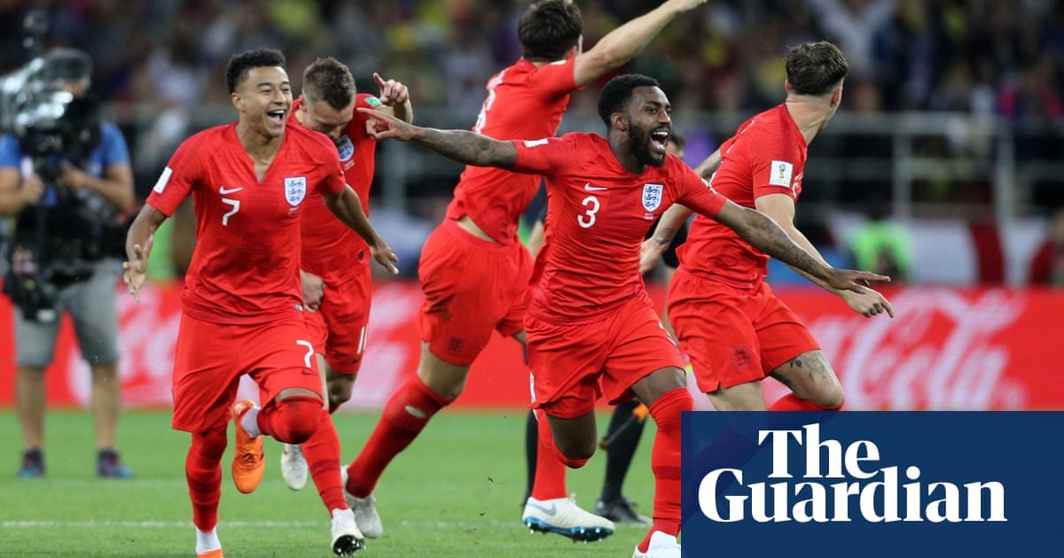 England knock Colombia out of World Cup in last-16 penalty shootout