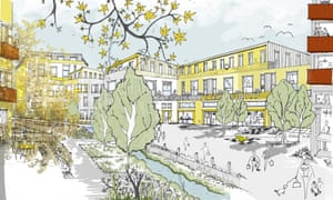 Plans for the Romford regeneration project that Rachel Hearn has been working on.