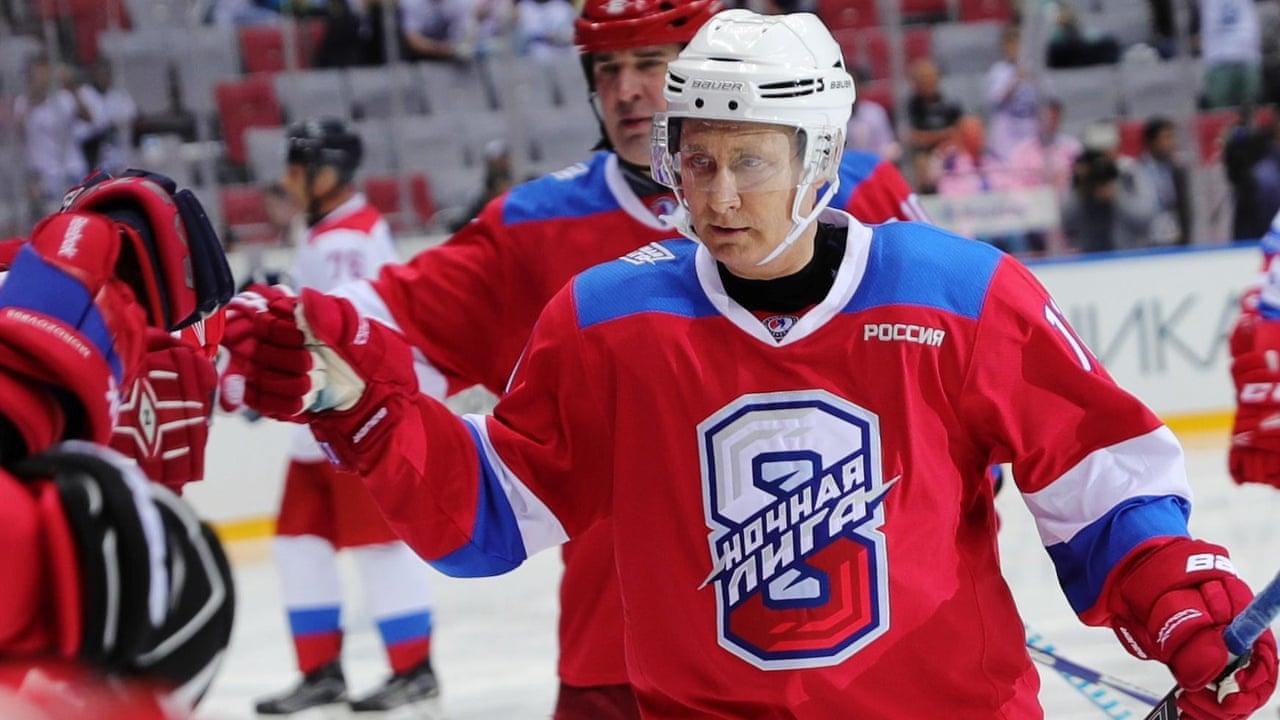 Vladimir Putin Tops The Scoring In Ice Hockey Match Then Falls Over Video