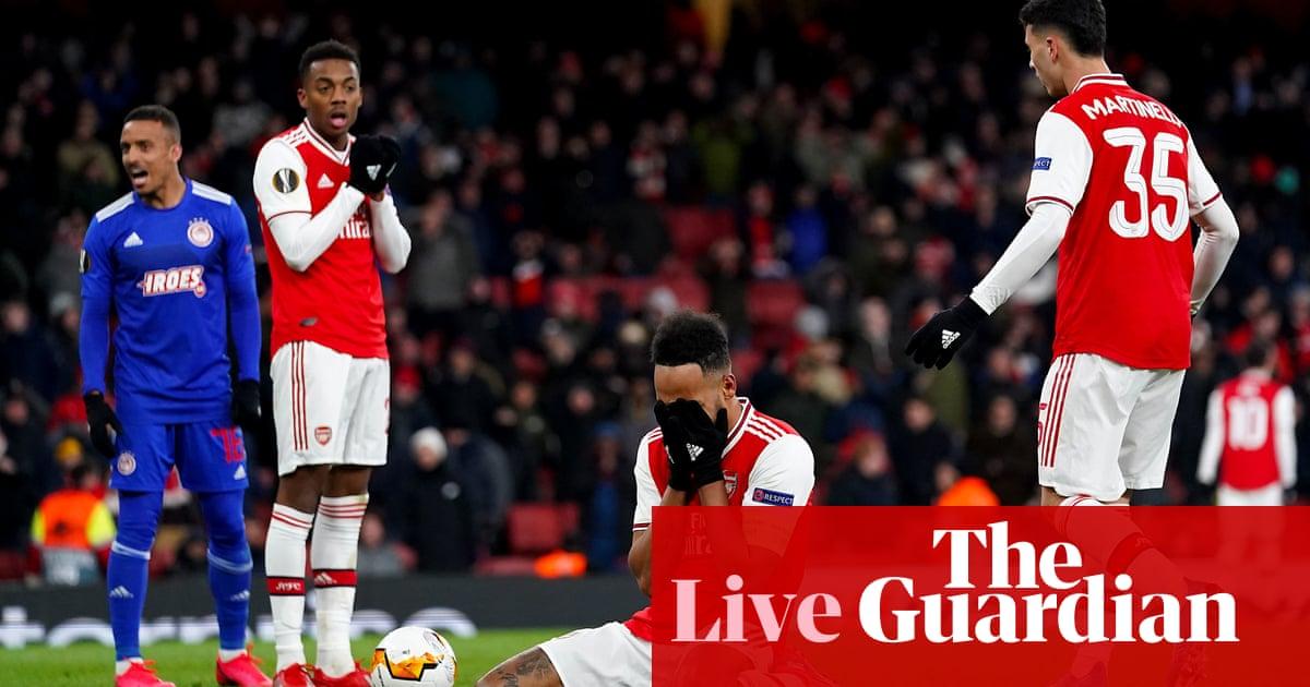 Europa League clockwatch: Arsenal and Celtic crash out – live!