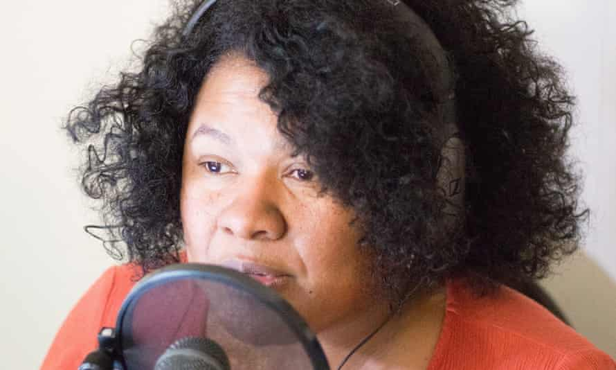 Rekaya Gibson, host of the Black Girls Talk Sports podcast