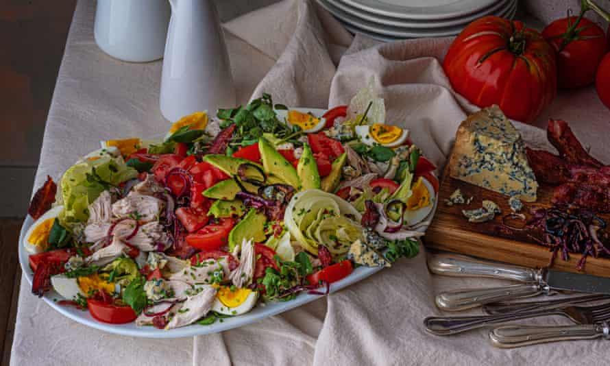 Classic cobb salad by Emily Nunn.