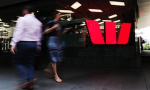 Westpac sign in the city