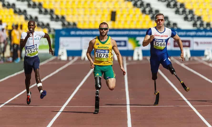 Australian Paralympian Scott Reardon