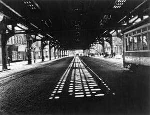 Under the Third Avenue L train, 1943-45