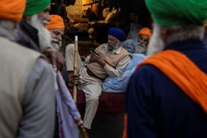 The farmers are camping along at least five major highways on the outskirts of New Delhi