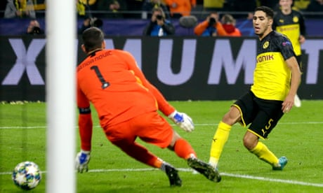 Champions League round-up: Hakimi inspires Dortmund to comeback win over Inter