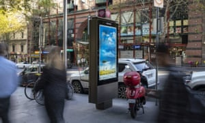 Telstra payphone in Melbourne. Councils have blocked the installation of the phone booths.