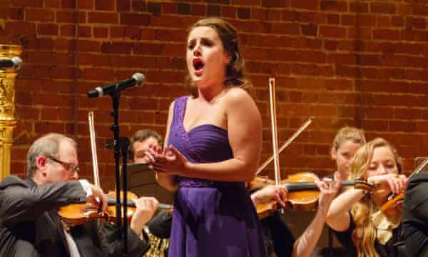 Louise Alder and the John Wilson Orchestra in an all-Bernstein programme at Aldeburgh festival.