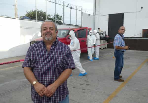 Ten years ago forensic expert Antonio Muñoz worked analysing cartel victims' mutilations. He now runs his own criminology college in Tijuana.
