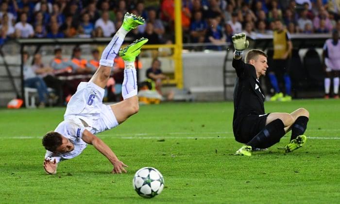 Leicester City facilidade para a vitória sobre o Club Brugge na Unibet estréia da Liga dos Campeões