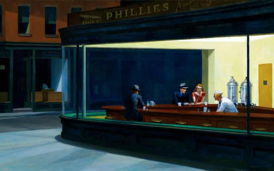 Nighthawks by Edward Hopper.