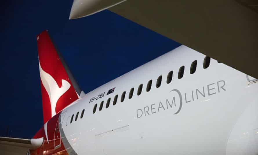 Qantas 787-9 Dreamliner