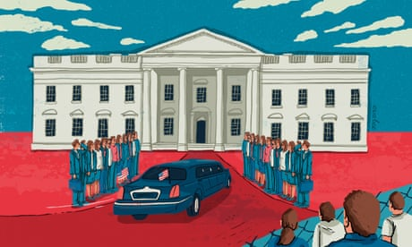 Donald Trump is moving to the White House, and liberals put him there