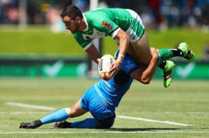Ireland began their World Cup with a 36-12 win over Italy in Cairns.