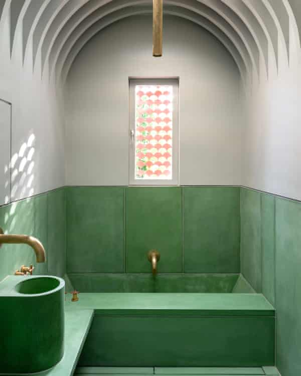 Eastern influence: the hammam-inspired bathroom.