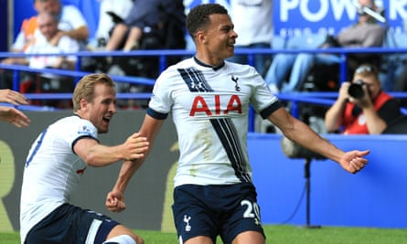 Tottenham duo Dele Alli, right, and Harry Kane are nominated for the PFA's major awards.