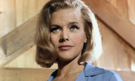 Honor Blackman as Pussy Galore in the 1964 film Goldfinger