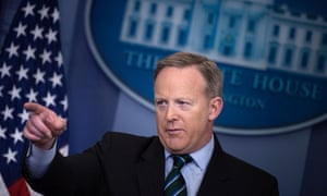 Sean Spicer: 'That's nothing that's coming from the White House. They haven't been directed by us to do anything.'