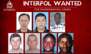 An Interpol image of the seven men