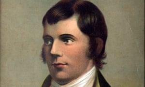 Portrait of Robert Burns